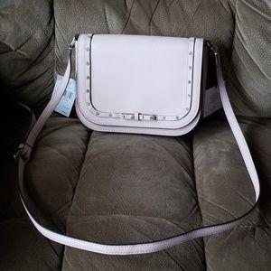 Kate Spade small pale pink jeweled crossbody bag